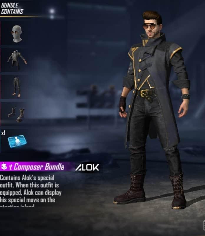 DJ Alok character