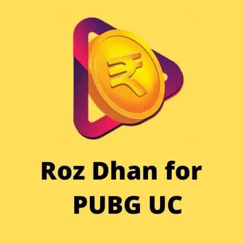 Roz Dhan PUBG UC
