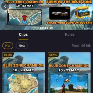 Booyah App Survival Clip